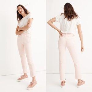 (MADEWELL) Garment-Dyed Straight-Leg Jeans